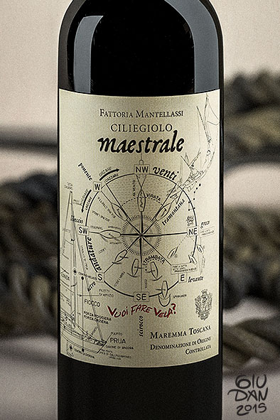 Sailing theory on a wine label
